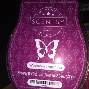 🐞 5 for $25 🐞 Scentsy Wax Bar Winterberry Apple